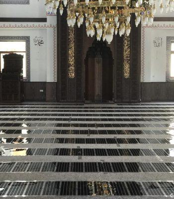 Cami Pencereleri - Alttan Isıtma